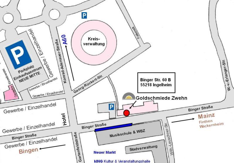 Parken bei Goldschmiede & Juwelier Zwehn